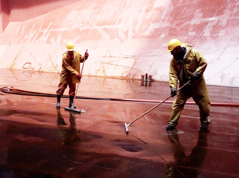 Cargo Hold Cleaning Service